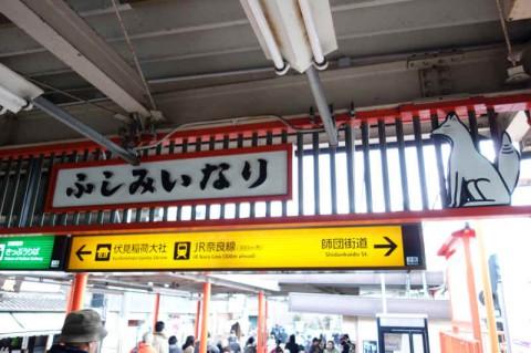京阪電車「伏見稲荷駅」