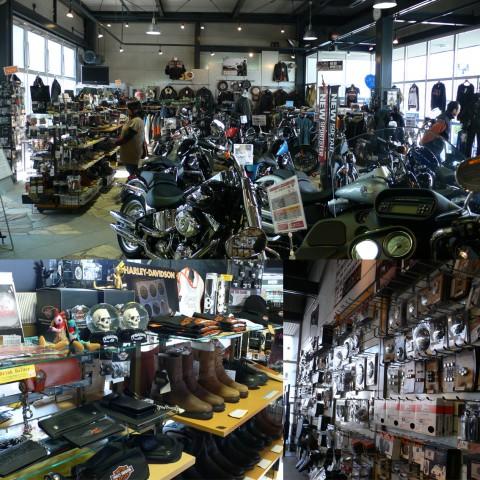オートバイに乗ることに難色を示していた家内もこのお店は気に入っていて私に同行する時はバッグやピアスを選んでいました。