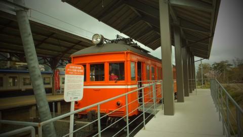 こっちがホームページで見た電車。デニハ50形。